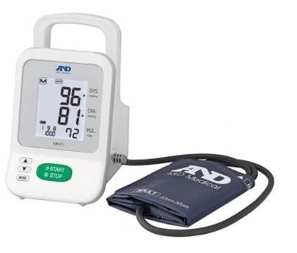Immagine di Misuratore automatico a bracciale Monitor portatile automatico e manuale per misurazione pressoria ambulatoriale / ospedaliera - Intermed Cod UM-211