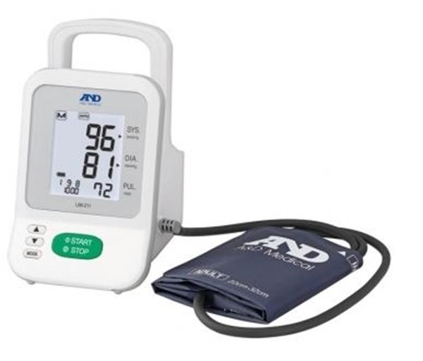 Picture of Misuratore automatico a bracciale Monitor portatile automatico e manuale per misurazione pressoria ambulatoriale / ospedaliera - Intermed Cod UM-211