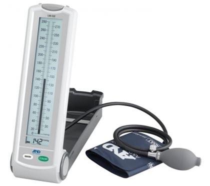"""Immagine di Sfigmomanometro """"ibrido"""" modello da tavolo e da studio medico - Intermed - cod. UM-102A"""