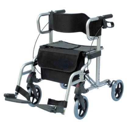 Immagine di Deambulatori per adulti pieghevole e da seduta Seatwalk 1 - Chinesport XG9234