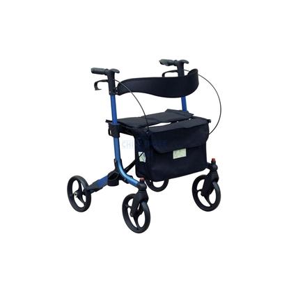 Immagine di Deambulatori per adulti pieghevole con ruote Seatwalk 3 - Chinesport XG9288