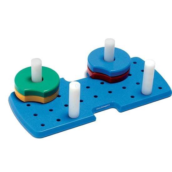 Picture of Moduli ausili per riabilitazione della mano OLYMPIC DISCS PICCOLO - Chinesport AR10027