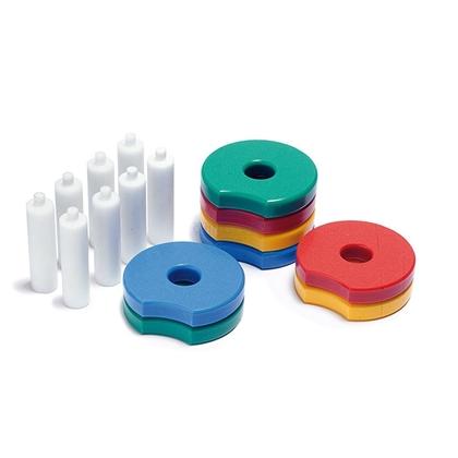 Immagine di Cilindri e dischi per riabilitazione OLYMPIC DISCS - SET 1 AR10033