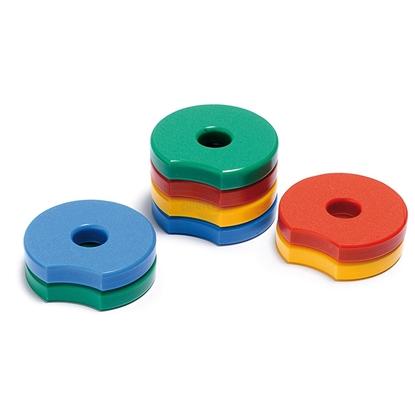 Immagine di Dischi sagomati per cilindri OLYMPIC DISCS - SET 2 - Chinesport AR10034