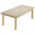 Picture of Lettini da esami e trattamenti in legno a due sezioni o quattro sezioni - Chinesport