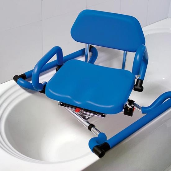 Picture of Sedili girevoli da vasca con braccioli e chienale imbottito - Chinesport XIN011