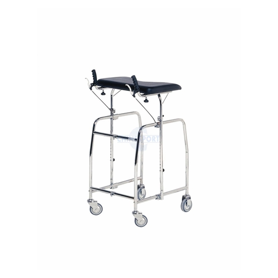 Picture of Deambulatori per adulti quattro ruote due piroettanti WALKER F - Chinesport 08756