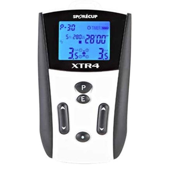 Picture of Elettrostimolatori Tens 30 programmi 2x2 canali di stimolazione SPORECUP XTR4 - chinesport 101064