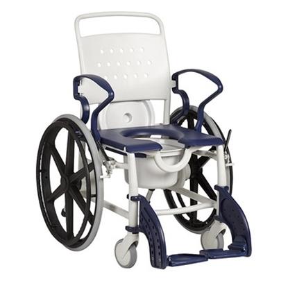 Immagine di Sedie da toilette con ruote autospinta GENF ED - Chinesport  XRE005