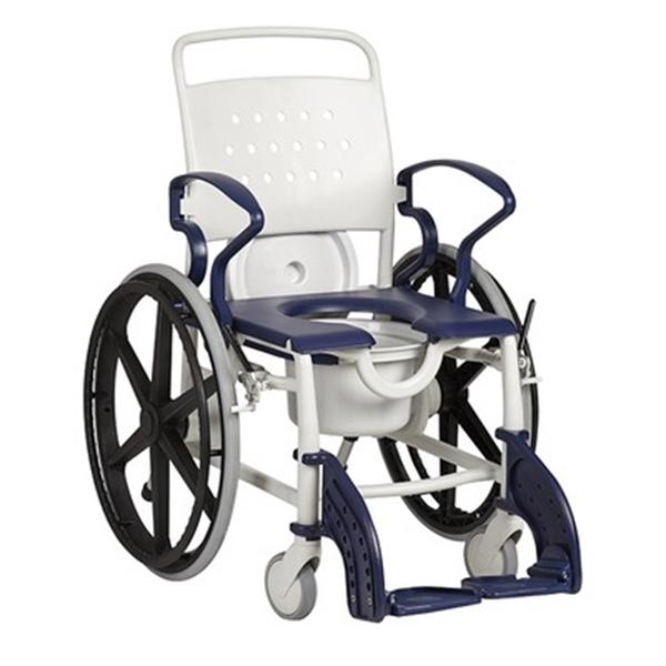 Picture of Sedie da toilette con ruote autospinta GENF ED - Chinesport  XRE005