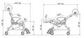 Picture of Sedie da doccia e toilette con ruote seduta imbottita PHOENIX PU - Chinesport XRE008