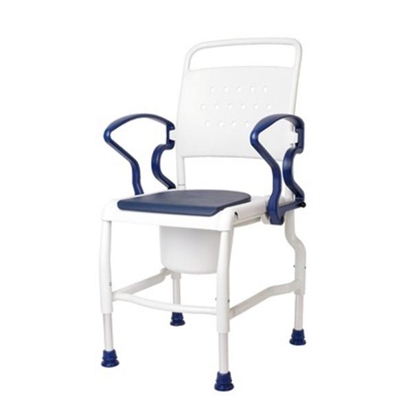 Picture of Sedie toilette con sedile imbottito e foro KIEL - Chinesport 01812