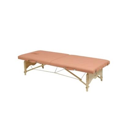 Immagine di Lettini da esami e trattamenti in legno a due sezioni pieghevole LERIDA - Chinesport 01419