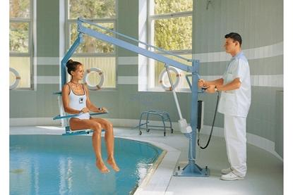 Immagine di Sollevatori elettrico per piscina LIFTPOOLSEAT E MAXI - Chinesport 14240