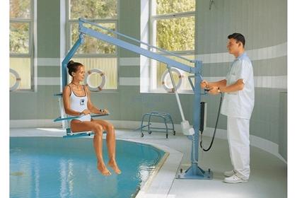 Immagine di Sollevatori elettrico per piscina LIFTPOOLSEAT E - Chinesport 14250