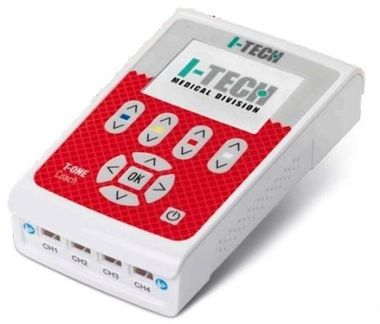 Picture of elettrostimolatore 4 canali indipendenti TENS MICROCORRENTE - I-TECH T-ONE Coach