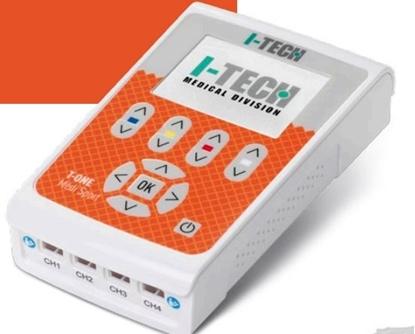 Immagine di elettrostimolatore 4 canali indipendenti TENS MICROCORRENTE NEMS - I-TECH T-ONE Medi Sport