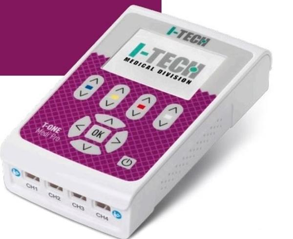 Picture of elettrostimolatore 4 canali indipendenti TENS MICROCORRENTE NEMS FES - I-TECH T-ONE MEDI PRO