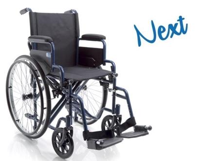 Immagine di Carrozzina pieghevole - NEXT- seduta da 40cm a 50cm - ARDEA CP110-xx