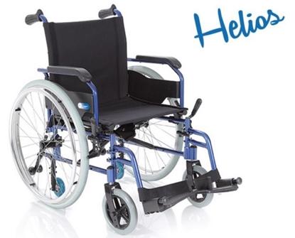 Immagine di Carrozzina pieghevole - HELIOS - seduta 40 a 45 cm - ARDEA CP740-xx