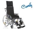 Picture of Carrozzina pieghevole ad autospinta - Schienale reclinabile - seduta da 40cm a 46cm- COMFY- ARDEA CP805-xx