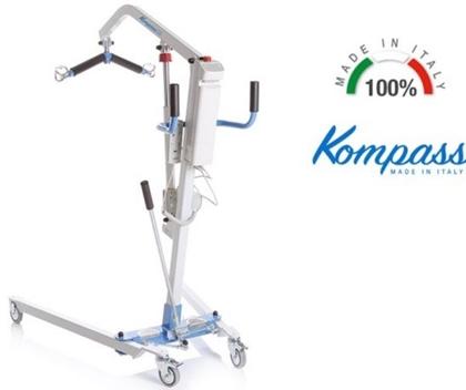 Immagine di Sollevamalati Elettrico - con Attuatore KOMPASS TIMOTION - Portata massima 135/150/180kg - MOPEDIA - cod. RI8xx