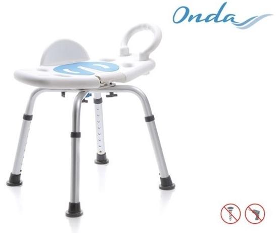 Picture of Sedie per la doccia girevole senza schienale - Mopedia Cod. RS700