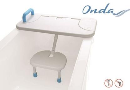 Immagine di Sedie per la vasca da bagno polietilene - Mopedia Cod. RS705